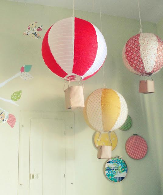 Decora con globos aerostáticos | Nubamía